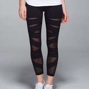 Lululemon High Times Pant Tech Mesh